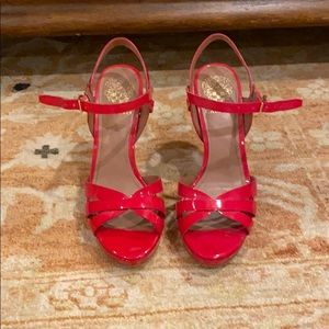 Vince Camino size 7 red heels in great condition